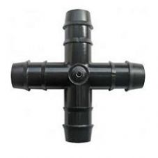 16mm Irrigation Barbed Cross